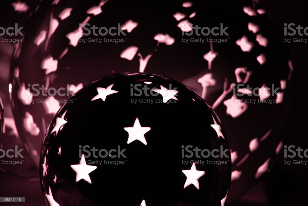 Lamp with stars royalty-free stock photo