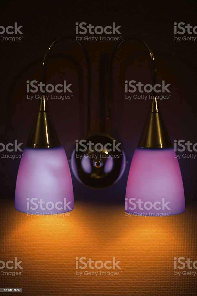 lamp-bracket royalty-free stock photo