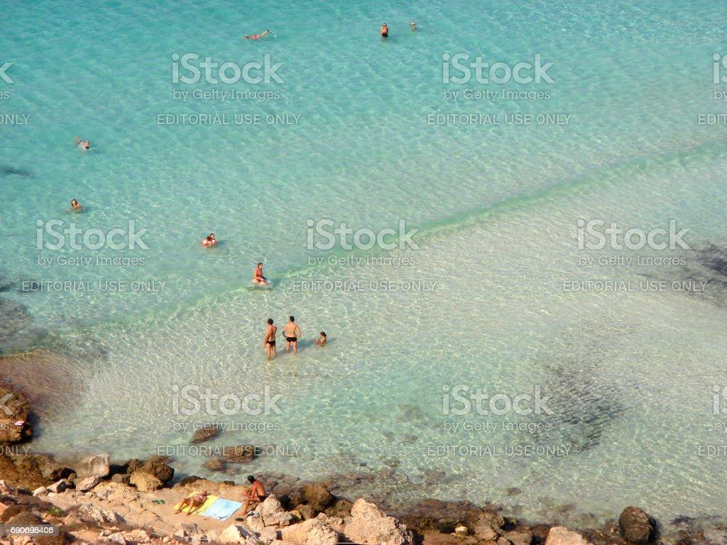 Lampedusa stock photo