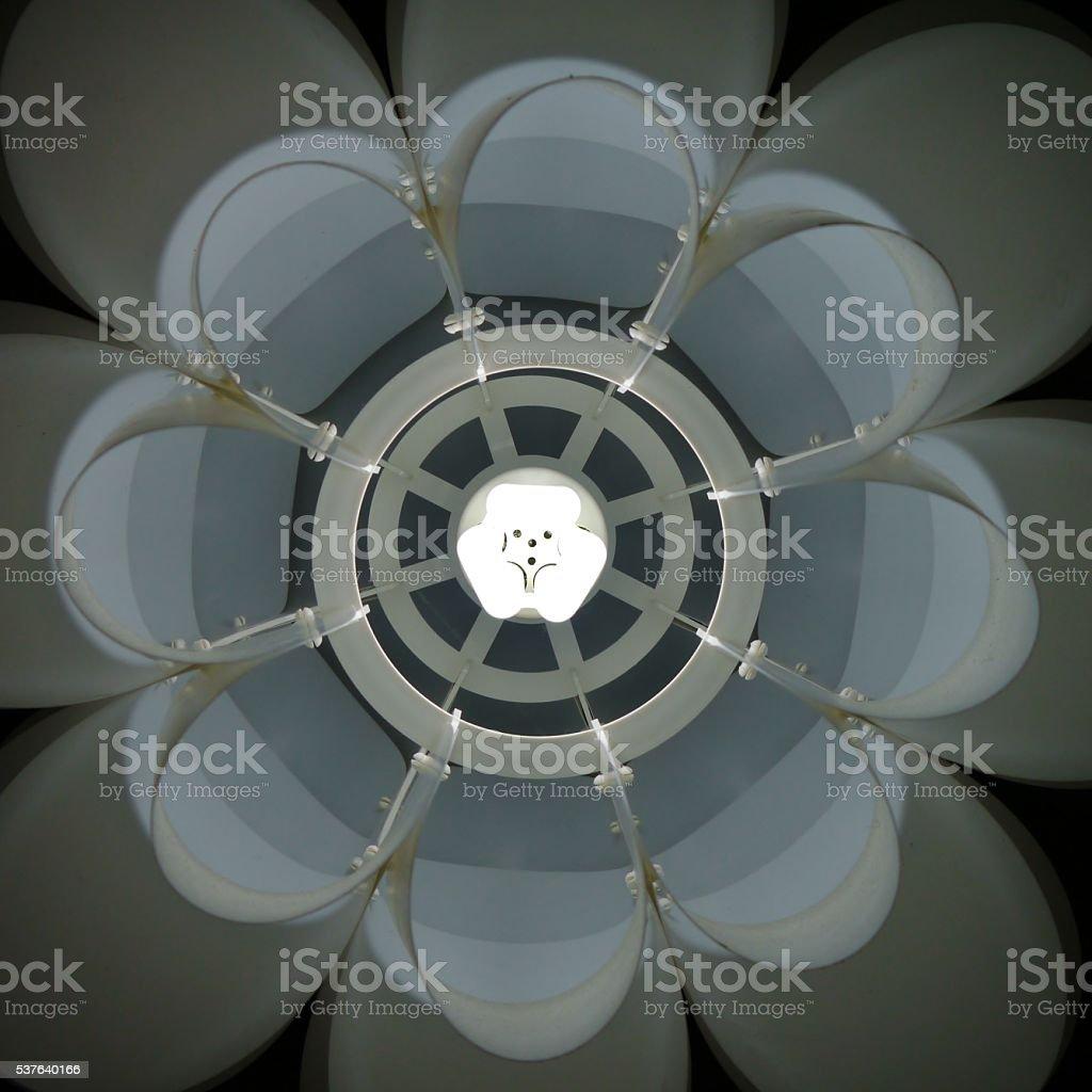 Lampenschirm von unten – Foto