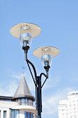 city,street light,lantern,light bulb