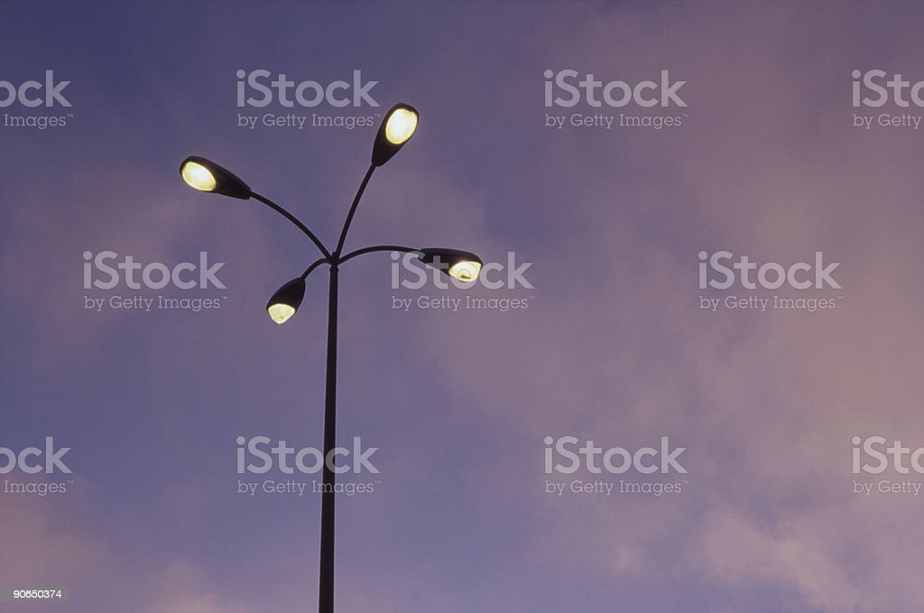 Lamppost royalty-free stock photo
