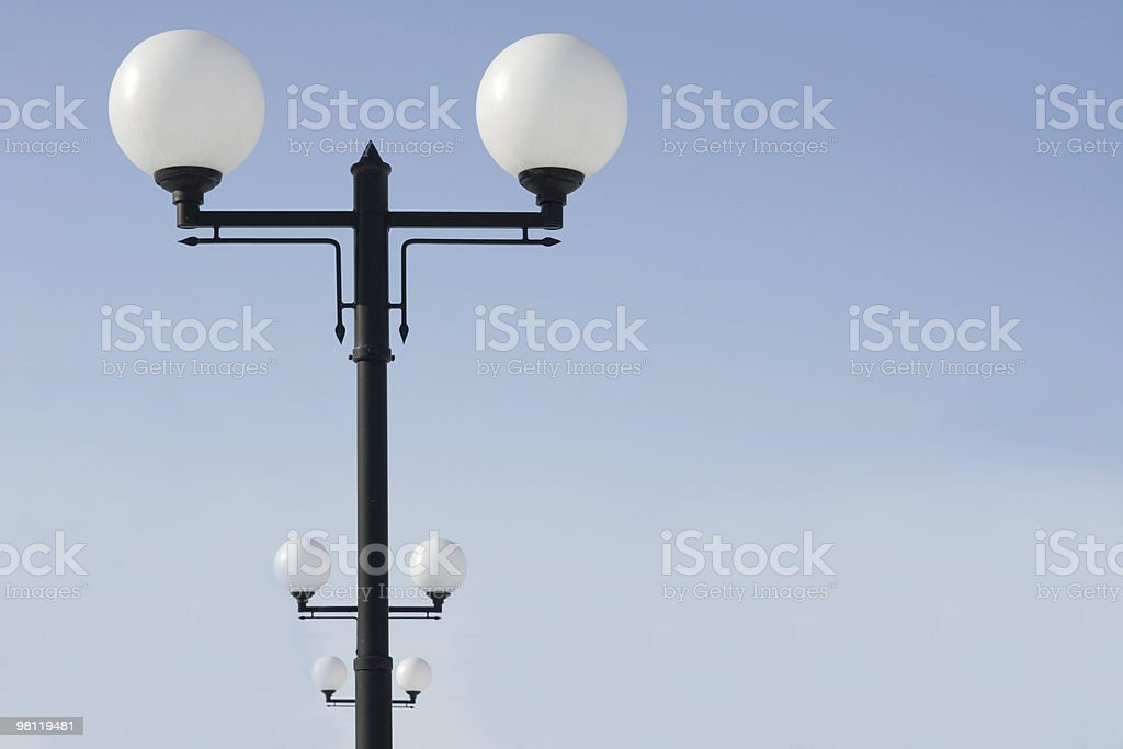 Lampposts royalty-free stock photo