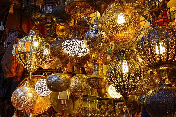lamps - rabat marocko bildbanksfoton och bilder