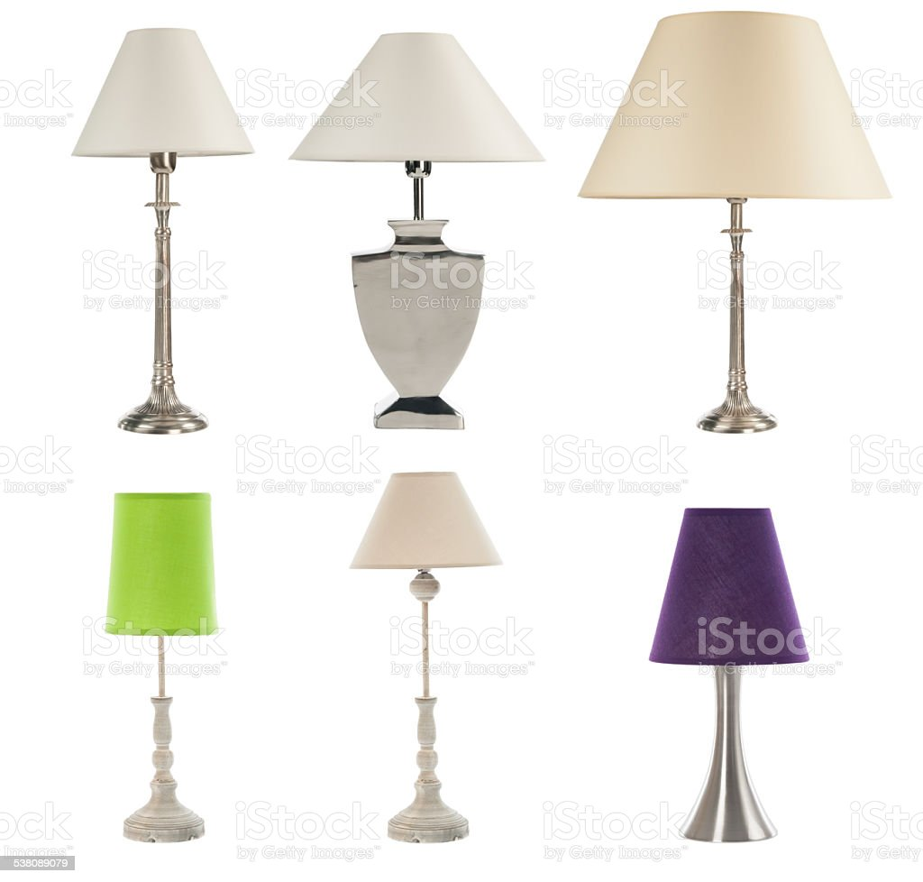 Lamps stock photo