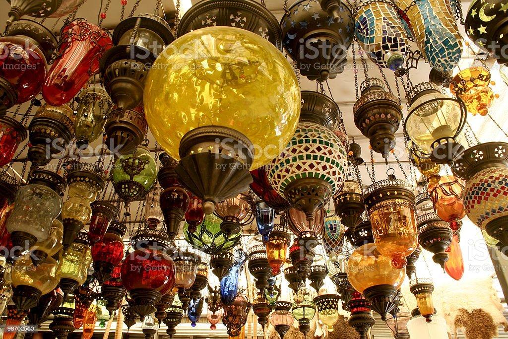 Le lampade foto stock royalty-free