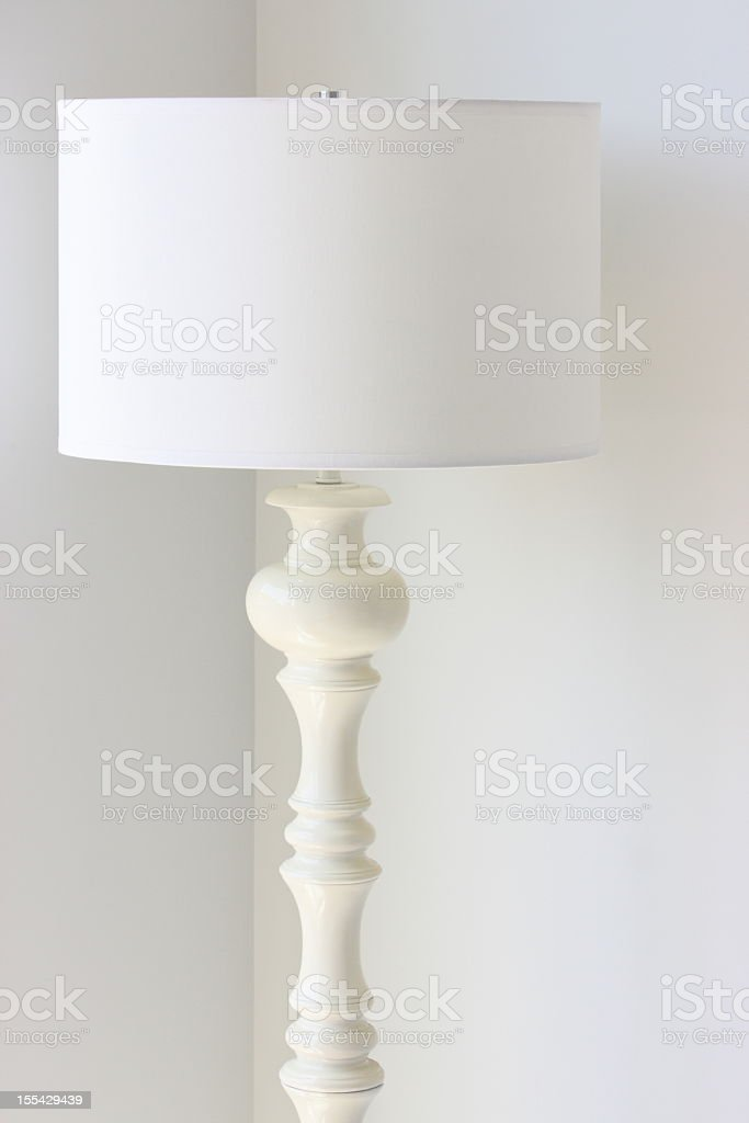 Lampshade Floor Lamp Home Decor royalty-free stock photo