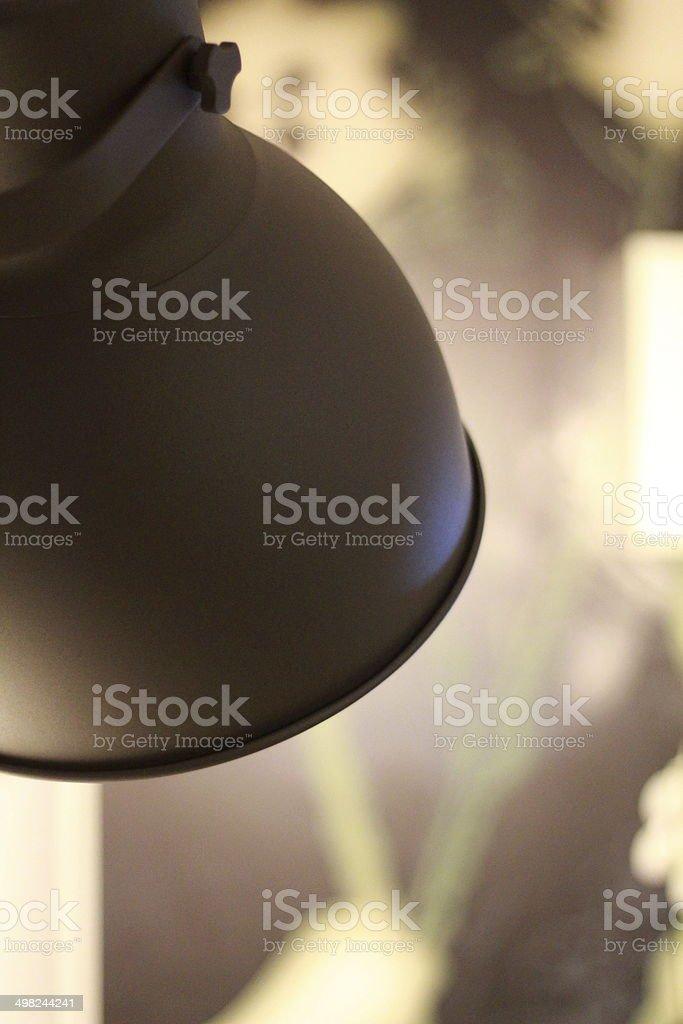 Lampshade stock photo