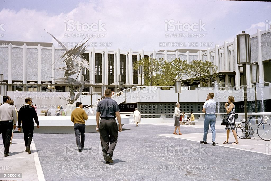 L.A.,Museum of Contemporary Art, 1967 stock photo