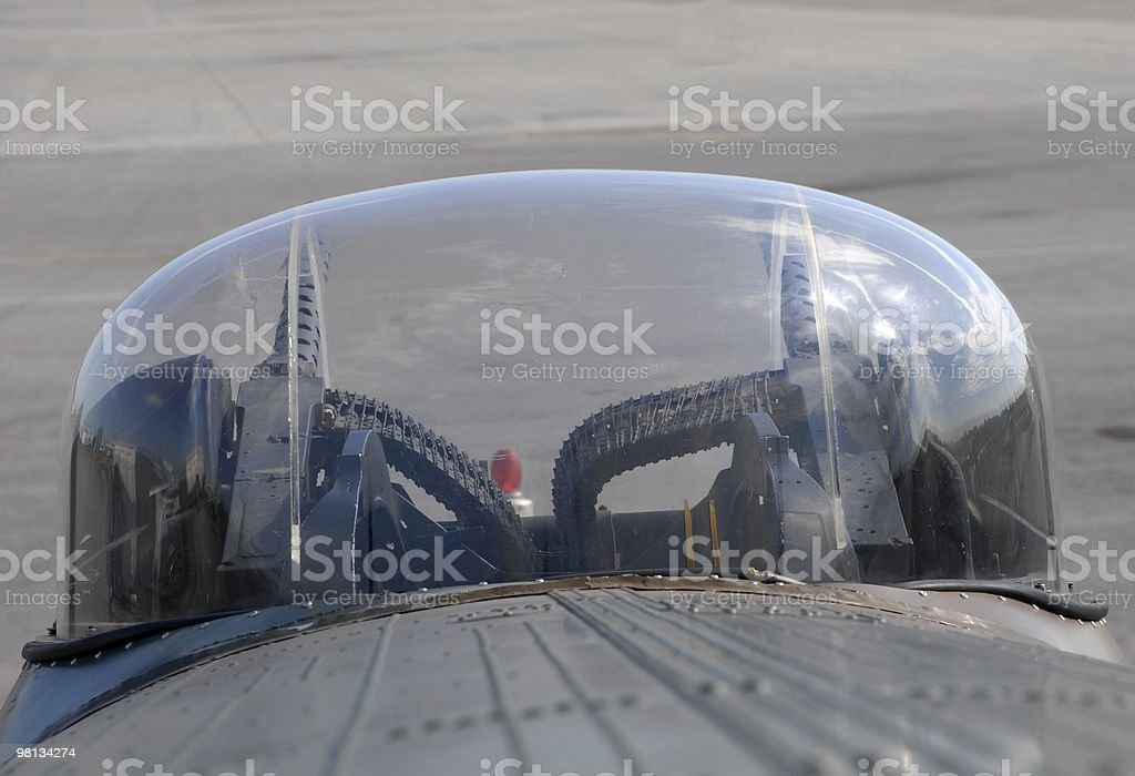Lancaster gun turret royalty-free stock photo