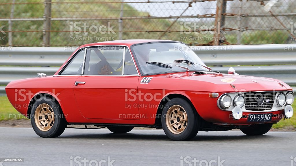 Lancia Fulvia royalty-free stock photo