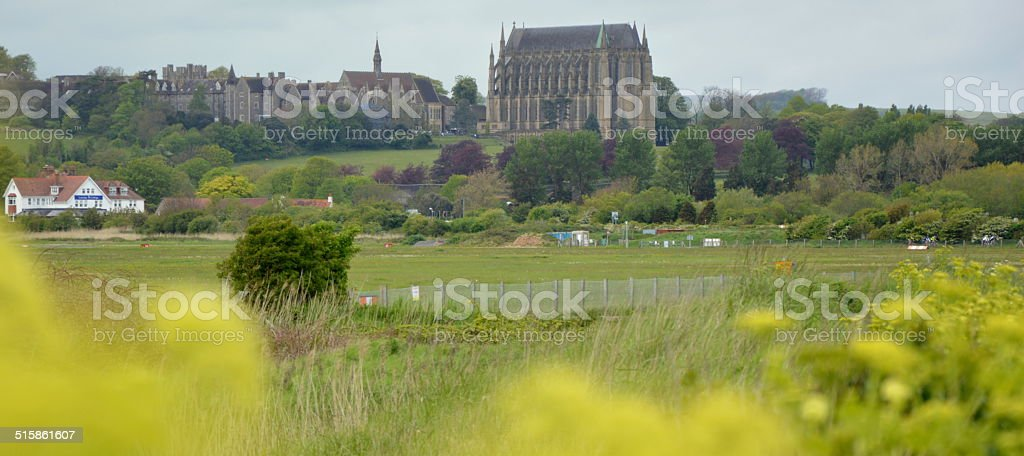 Lancing College stock photo