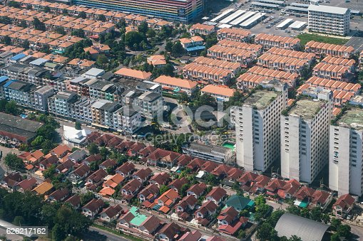istock Land and property business from aerial view 626217162