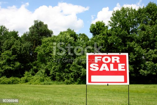 istock Land for Sale 92266946