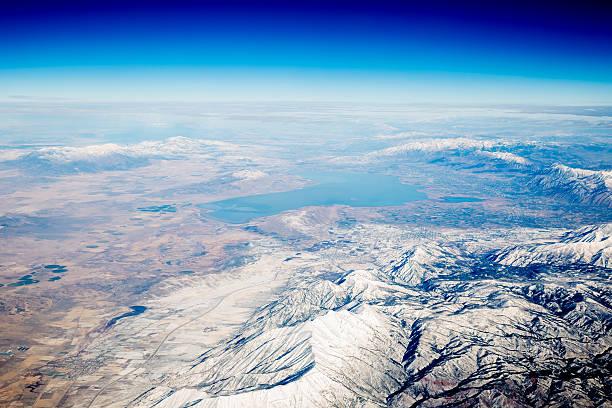 land from above - earth from space bildbanksfoton och bilder