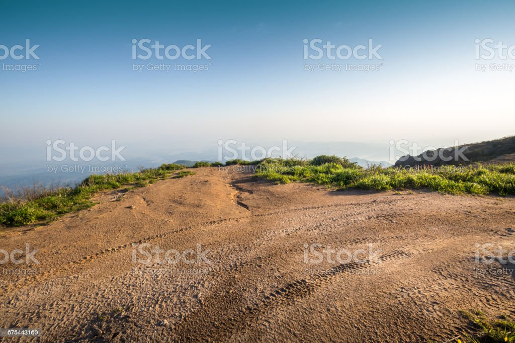 land ground for automobile commercial stock photo
