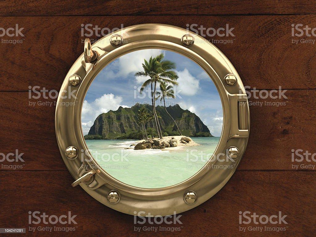 Land Ho! royalty-free stock photo