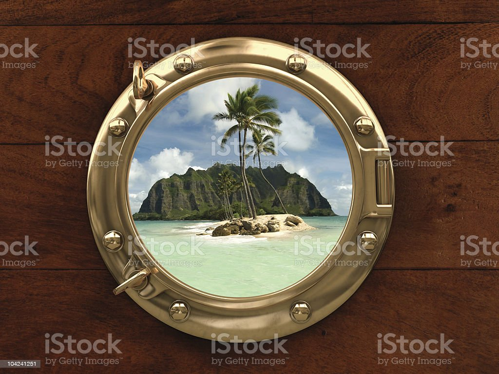 Land Ho! stock photo
