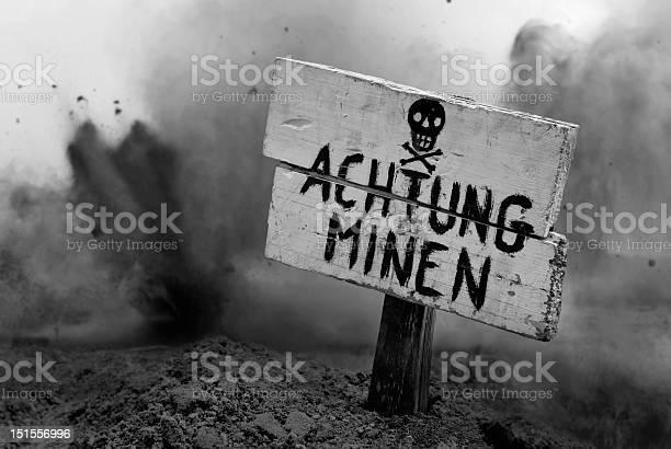 Land Mines Voraus Stockfoto und mehr Bilder von Deutsches Militär