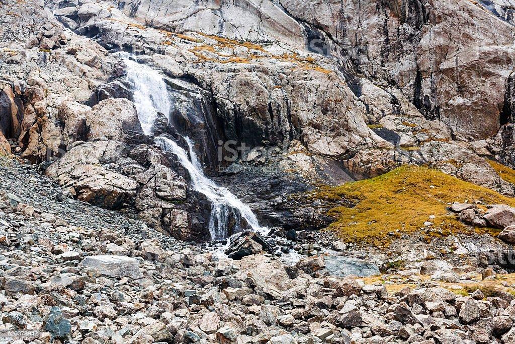 Land of water and stones. zbiór zdjęć royalty-free