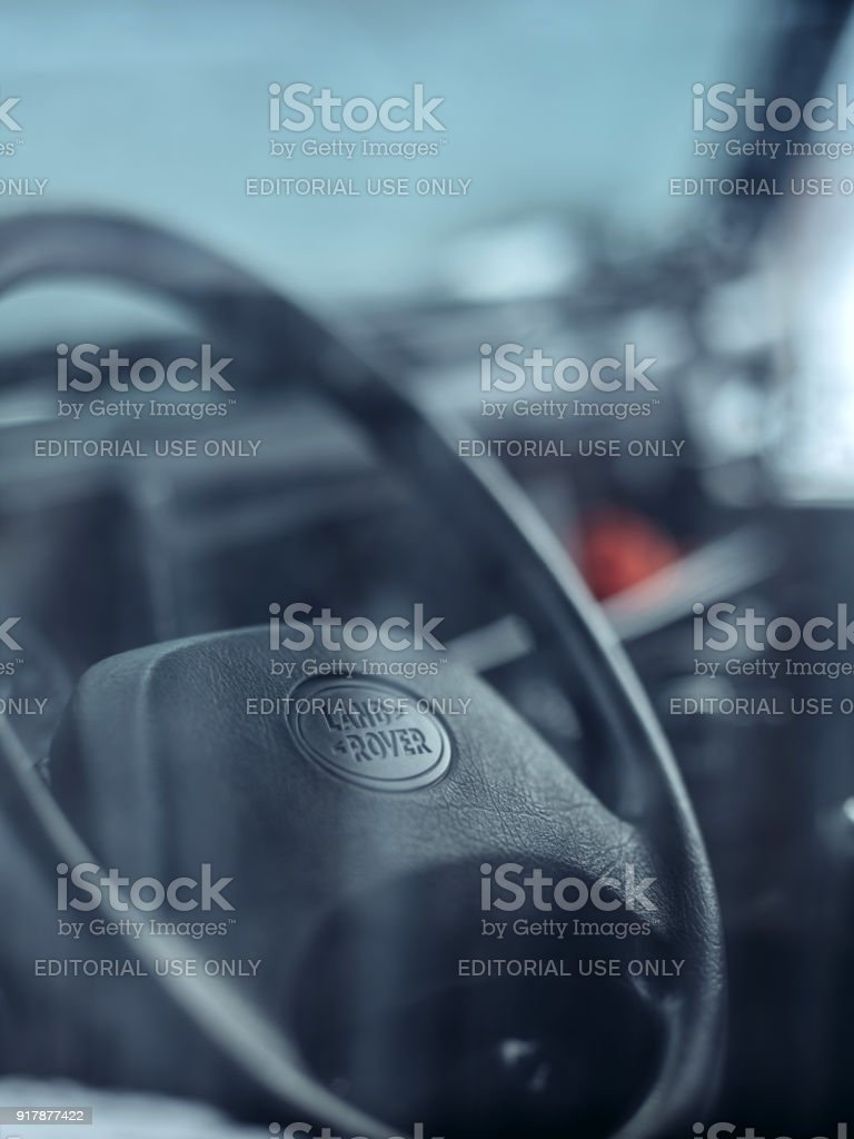Land Rover Defender 90 stock photo