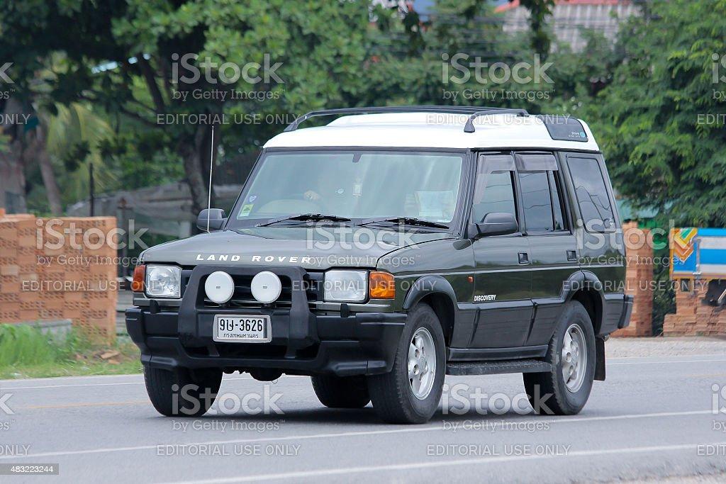Land Rover Discovery I (1989-1998). stock photo