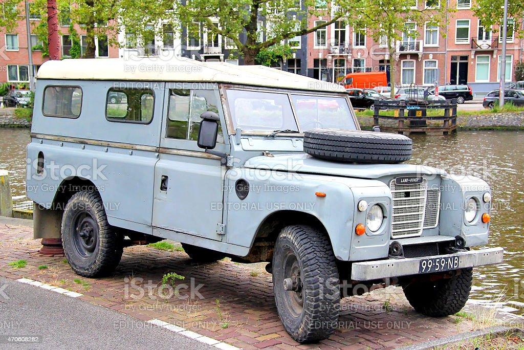 Land Rover Series III stock photo