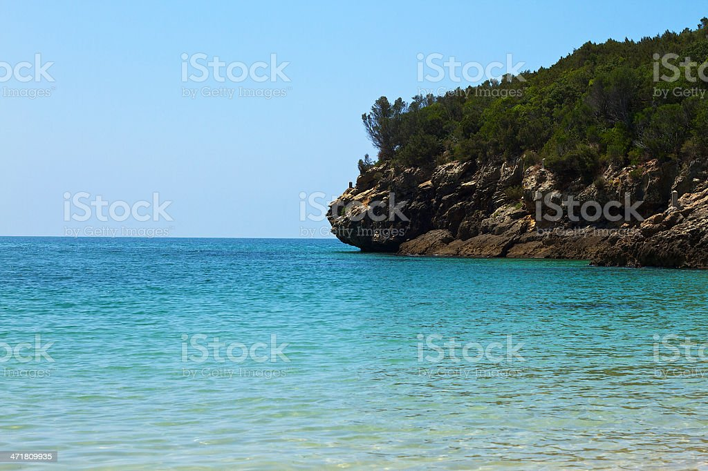 land to the water royalty-free stock photo