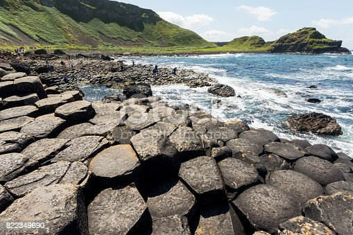 istock Landascapes of Ireland. Giant's Causeway, Northern Ireland 822349690