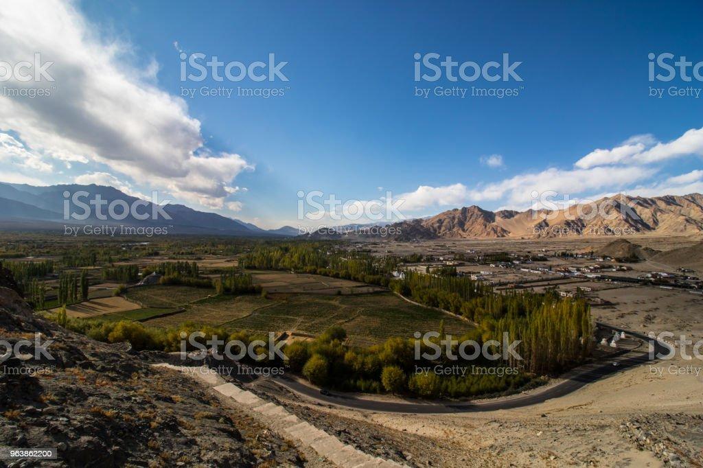 Landcape of Leh Ladakh - Royalty-free Asia Stock Photo