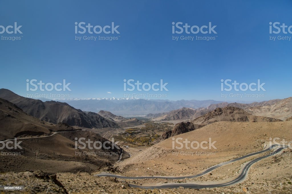 Landcape of Leh Ladakh - Royalty-free Asia Stock Photo