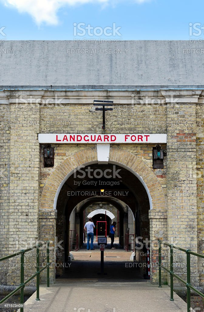 Landguard Fort, Felixstowe royalty-free stock photo