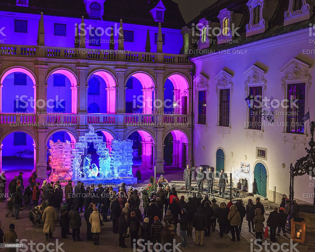 Landhaus of Graz royalty-free stock photo