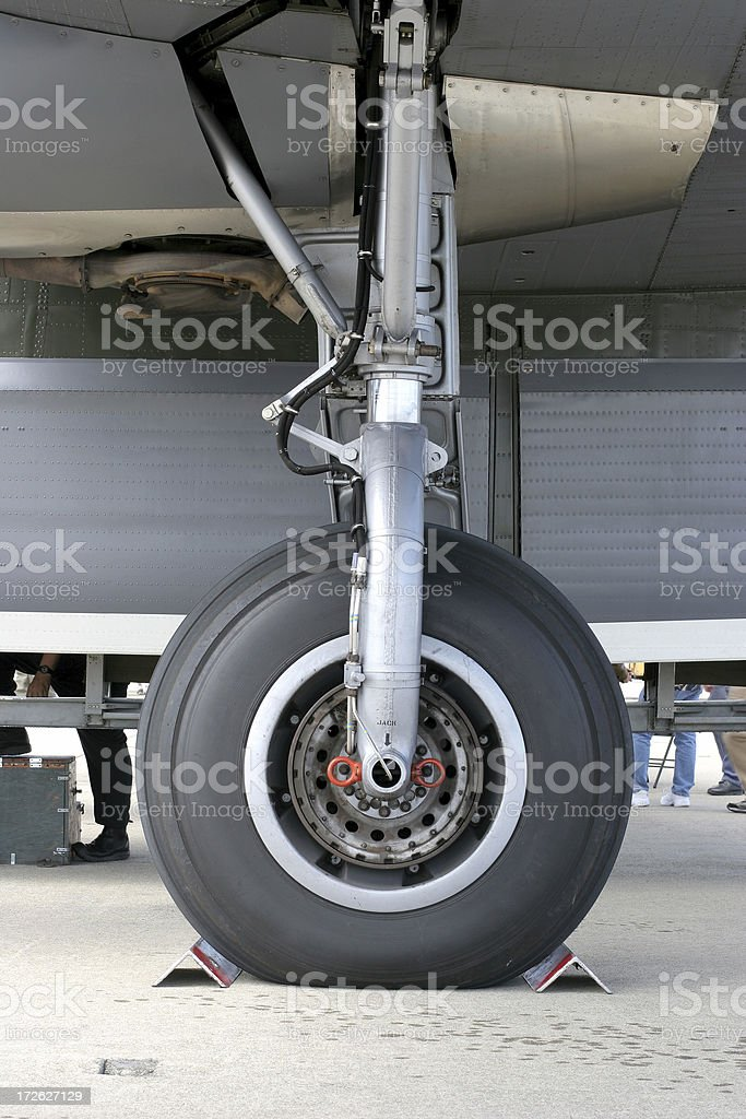 Landing Gear royalty-free stock photo