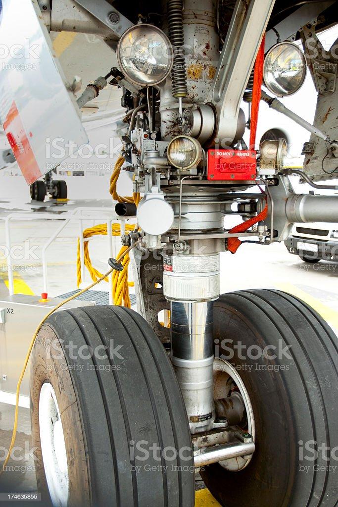 Landing Gear royalty-free stock photo