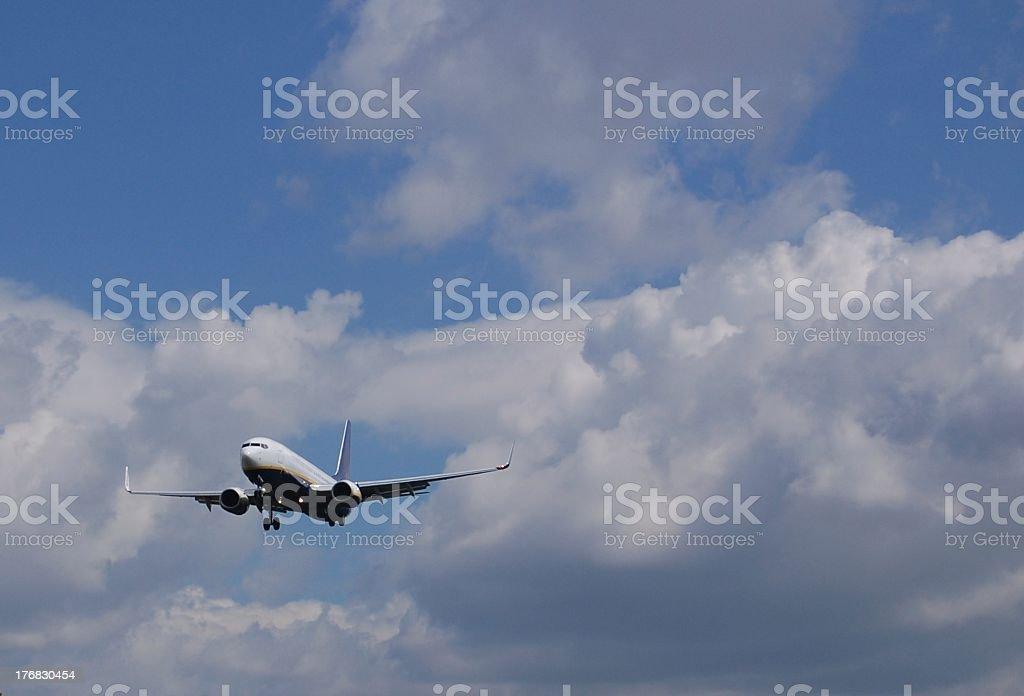 Landing Home stock photo