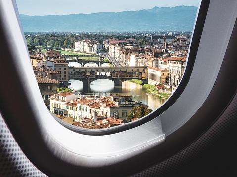 landing in florence