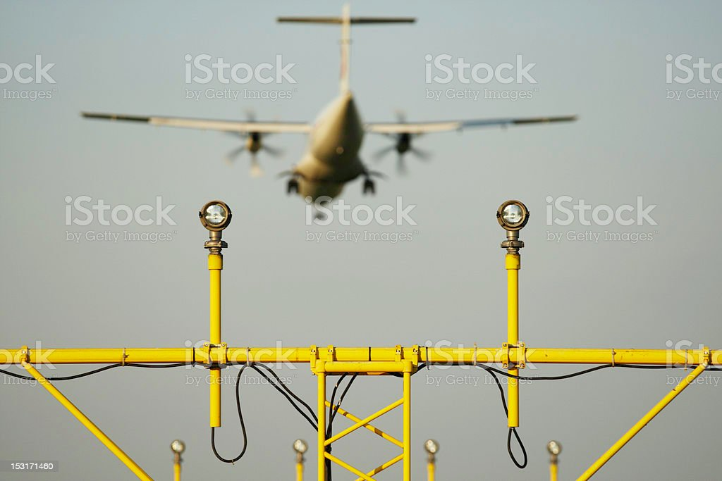 Landing light royalty-free stock photo