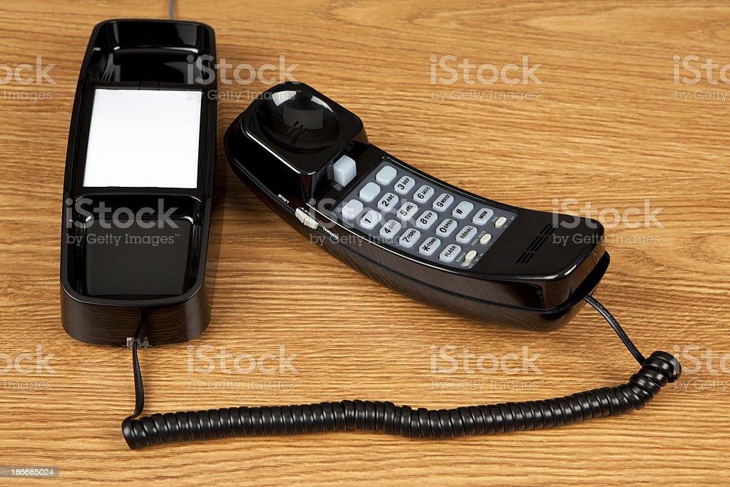 Landline Phone royalty-free stock photo