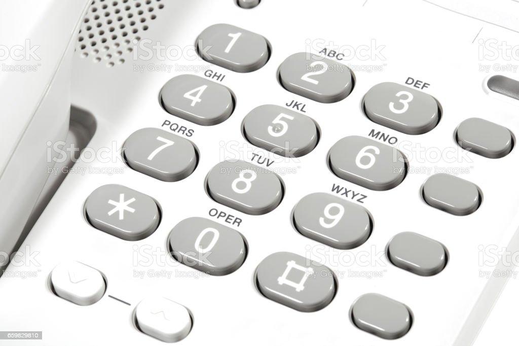 Landline Telephone stock photo
