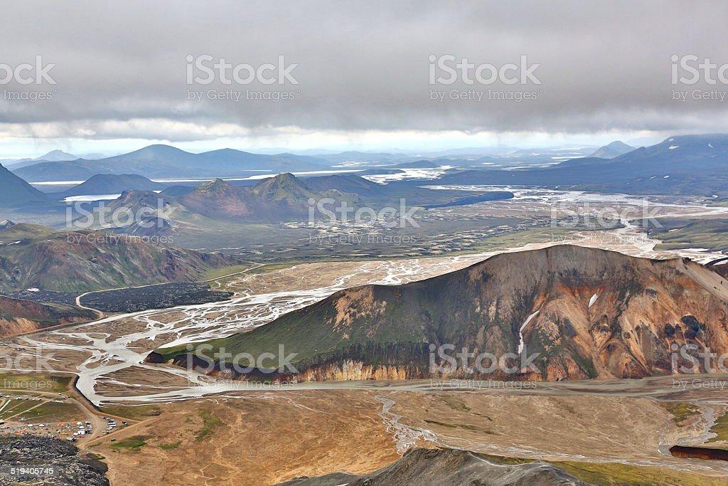Landmannalaugar - Iceland stock photo