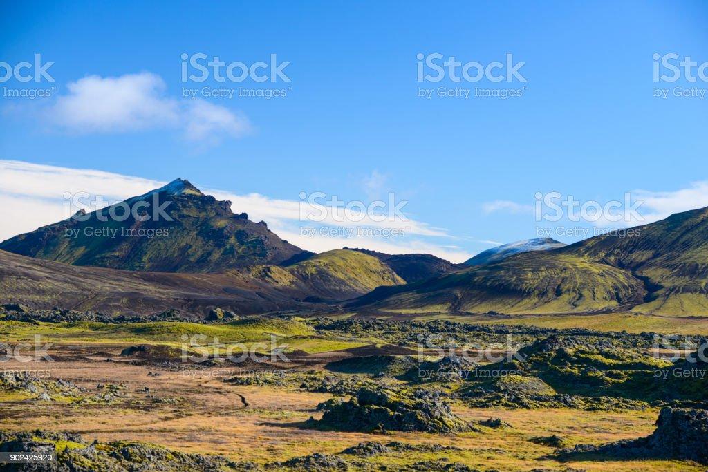 Landmannalaugar, Iceland stock photo