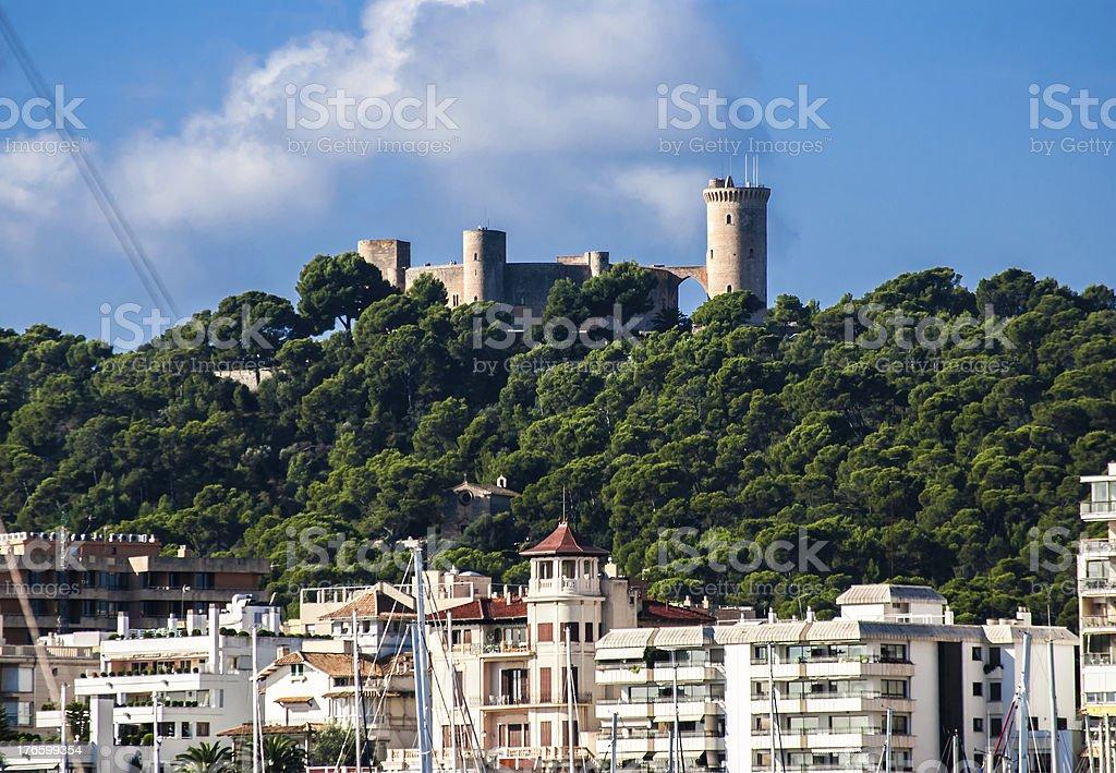 Landmark of Palma de Majorca stock photo