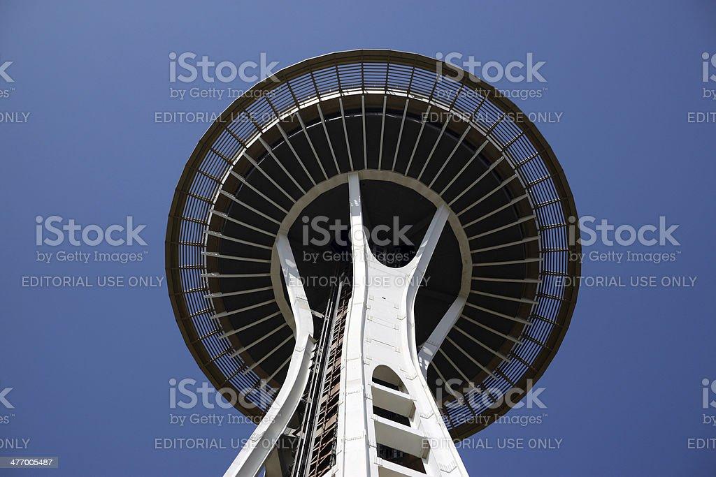 USA Landmark: Seattle Space Needle stock photo