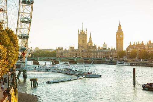 Landmarks Of London Uk Stock Photo - Download Image Now