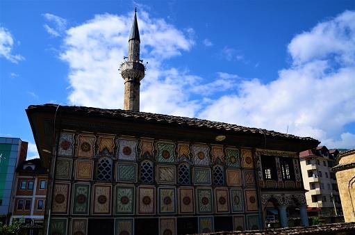 北マケドニアのランドマーク テトヴォのペインテッドモスク - イスラム ...