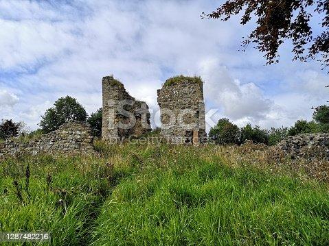 istock Landmarks of Scotland - Lochore Castle 1287482216