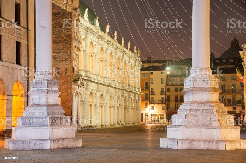 Landmarks of Vicenza - foto stock