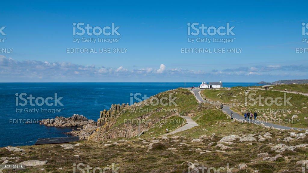Lands End Coast stock photo