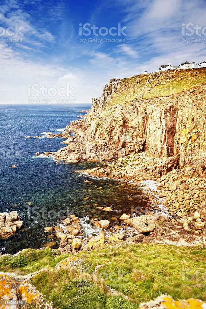 Land's End, Cornwall, England royalty-free stock photo